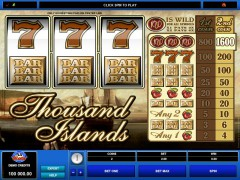 Thousand Islands - Microgaming
